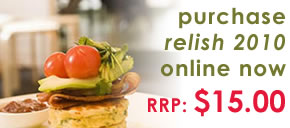 purchase Relish 2009 online now. Only $14.95